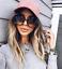 XXL-OVERSIZED-034-Myrte-034-Women-Sunglasses-SQUARE-Gold-Metal-Edges-Shadz-GAFAS thumbnail 4