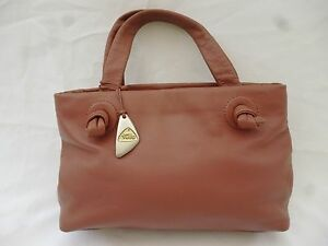 Image Is Loading Tula Small Pink Leather Tote Bag
