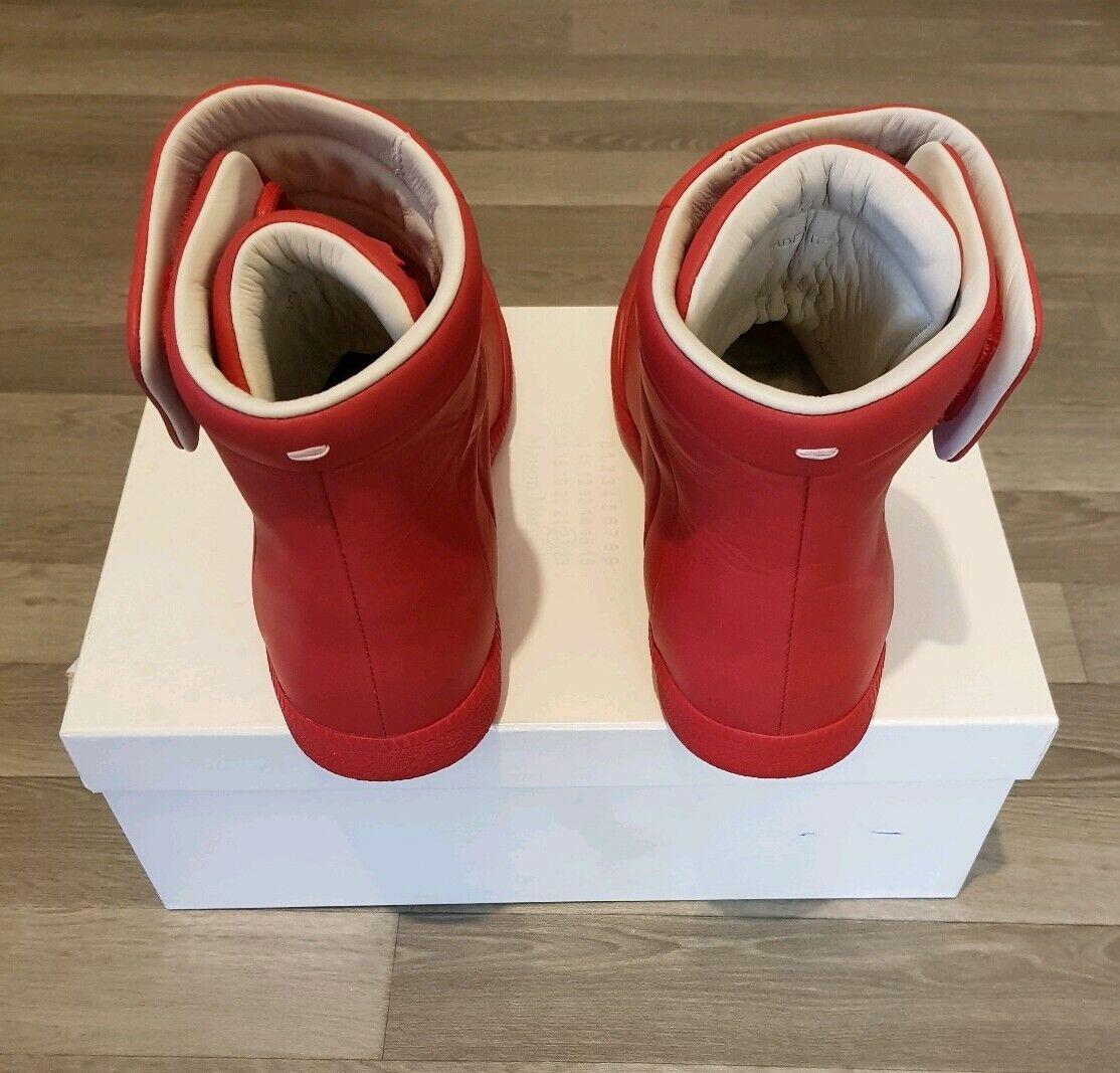 Auténtico Maison Martin Margiela Zapatillas zapatillas UK7 UK7 UK7 IT41 Rojo Future criados 0d66ae