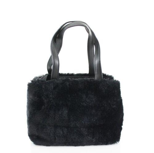 Ladies Womens Faux Fur Grab Bag Winter Top Handle Large Handbag Shoulder Bag New