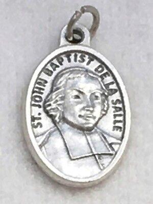 ST MARTIN de PORRES Catholic Oxidized Silver Nickel Patron Saint Medal