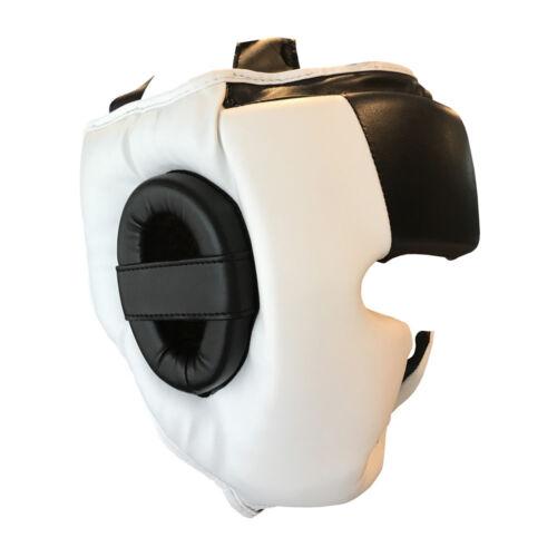TMA Training Head Guard Helmet Boxing MMA Martial Arts Kick Gear Face Protector