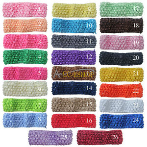 26pcs/Lot Kids Baby Girls Headbands Hair Bows Headwear Clip Crochet Accessories