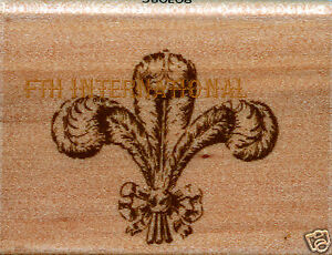 Image Is Loading Feather Fleur De Lis Anna Griffin Wood Mount