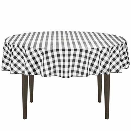 Round White Burlap Tablecloth 70