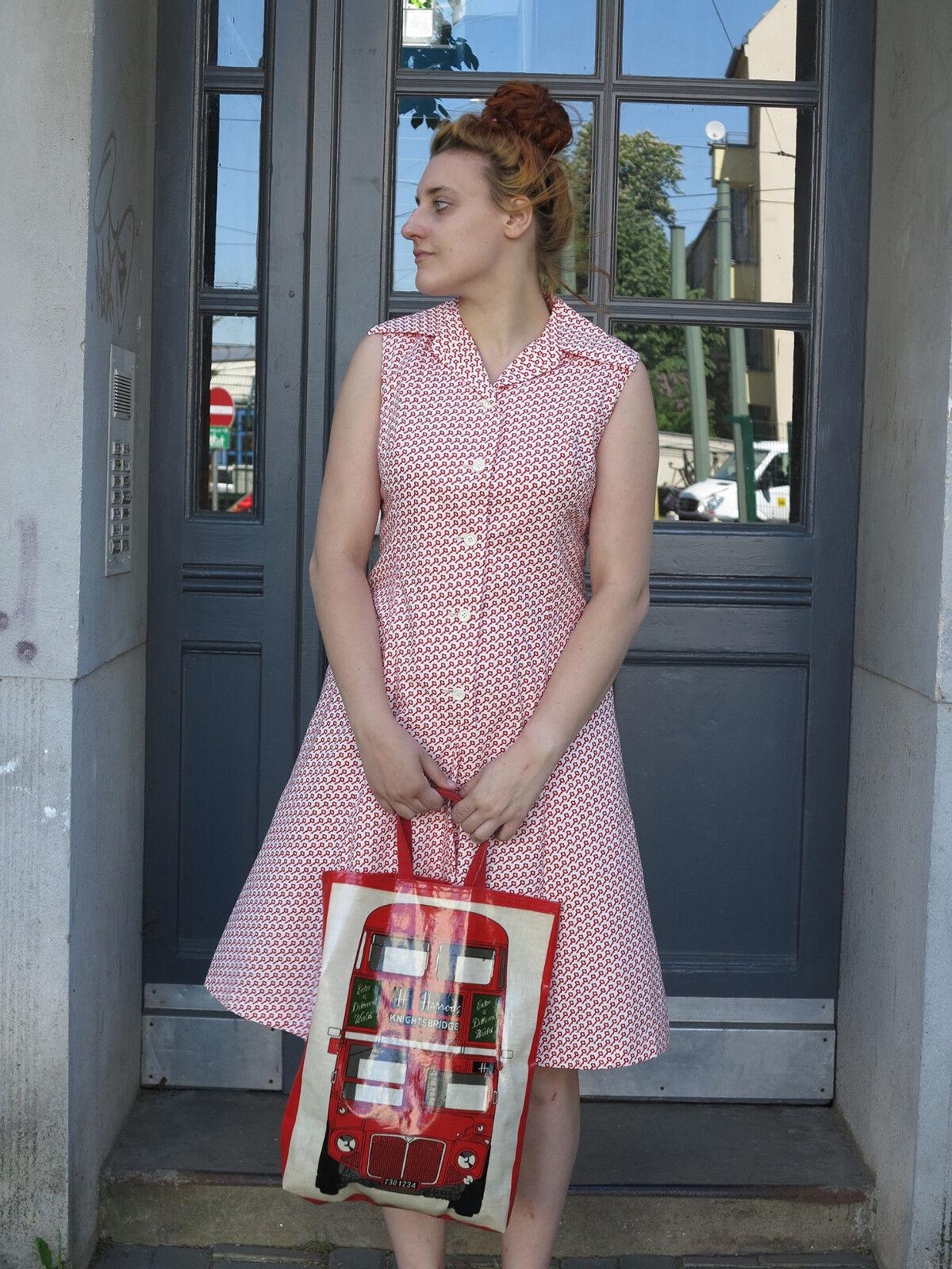 Uli Richter Special Damenkleid Kleid 70s True VINTAGE summer dress designerkleid