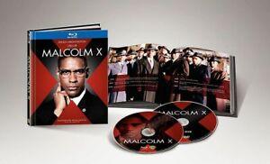 BLU-RAY DIGIBOOK MALCOM X (BLU-RAY+DVD+LIBRO 40 PAGINE) - NUOVO - RARO