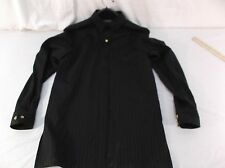 Ralph Lauren Polo Mens Small Sm S black Striped Button Down Dress Shirt 40164