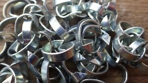 STANDARD-HOG-RING-NETTING-FASTENERS-CLIPS-FENCING-SHERADIZED-ZINC-PLATED-NET