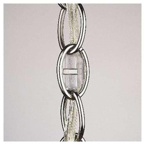 Grey Finish in Platinum Grey - 9032-24 Sea Gull Lighting Wire Extender
