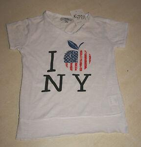 Tee-shirt-blanc-neuf-taille-8-ans-marque-LFM-b