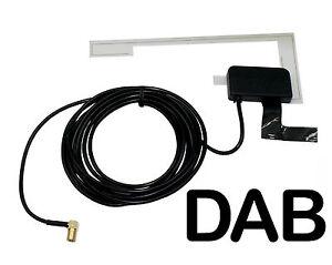 Vidrio de montaje Universal DAB Digital Antena de radio de vehículo Antena Conector de pequeñas y medianas empresas