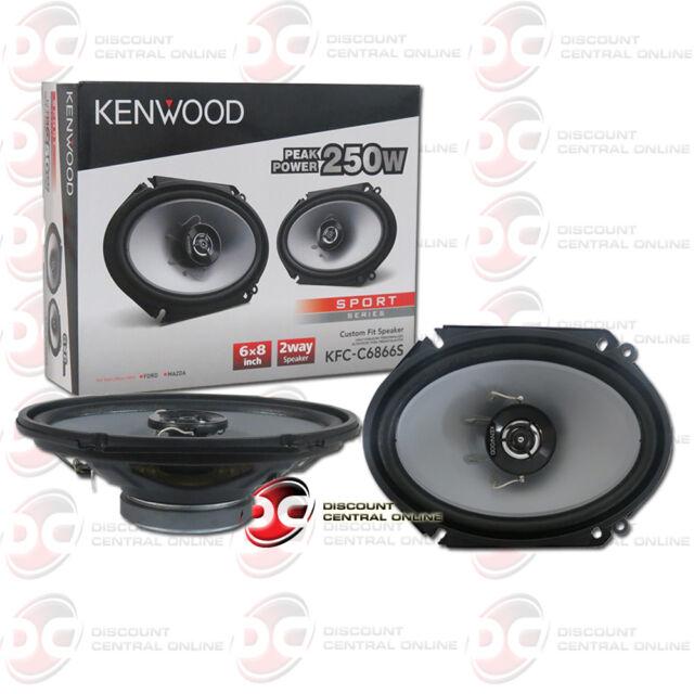 Kenwood Kfc C6866s 6x8 2 Way 250 Watt Car Stereo Speaker Ebay