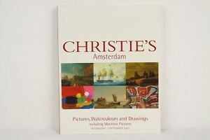 Auktionskatalog-Christie-039-s-Amsterdam-Pictures-Watercolors-Drawings-01-09-2004