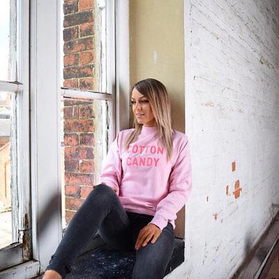 Cotton Candy Unisex Embroidered Sweater. Candyfloss, Novelty, Foodie, Candies NüTzlich FüR äTherisches Medulla