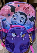 Disney Junior Vampirina Backpack with Lunch Bag 4pc Set