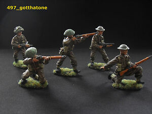 Airfix-CTS-Weston-toy-soldiers-TSSD-1-32-painted-British-infantry-pro-painted