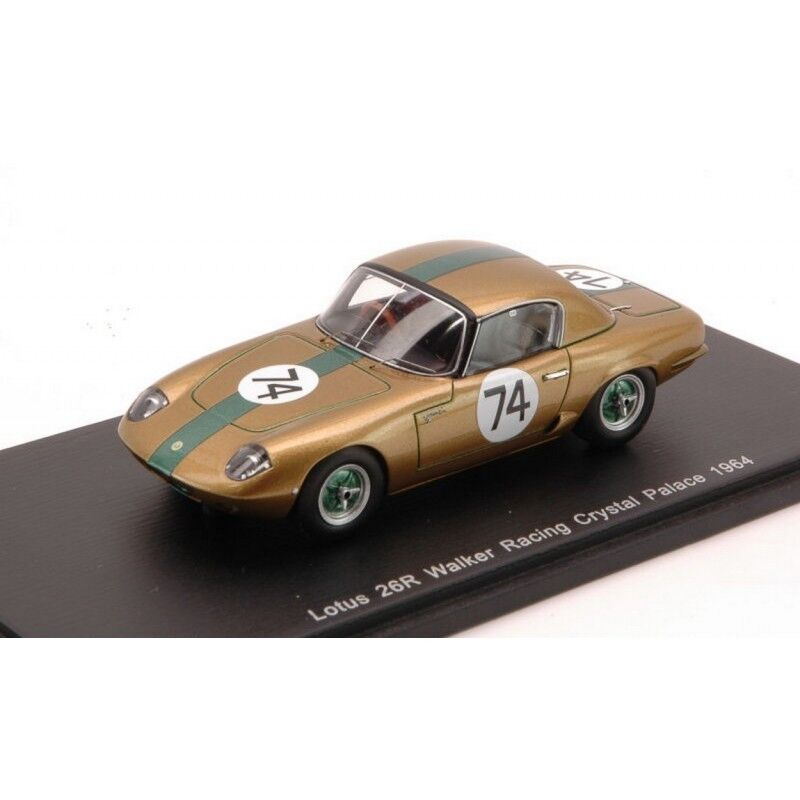 SPARK MODEL S0267 LOTUS 26R N.74 WALKER RACING CRYSTAL PALACE 1964 1 43 DIE CAST