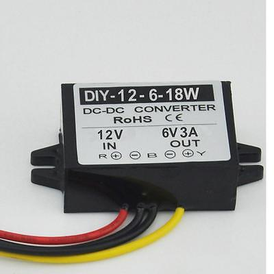 TO 6V 6A 36W Waterproof DC Converter Regulator buck Module DC 12V 24V 8V-28V