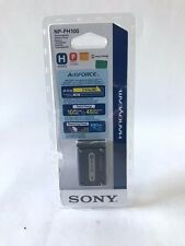 New OEM Sony NP-FH100 ActiFORCE High Capacity Battery Pack for Handycam Original