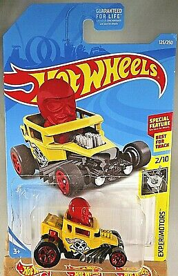 HOT WHEELS 2019 EXPERIMOTORS #2//10 SKULL SHAKER YELLOW