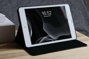 Apple-iPad-Mini-4-2019-64-GB-Wifi-silber-OVP-Logitech-Crayon-Huelle
