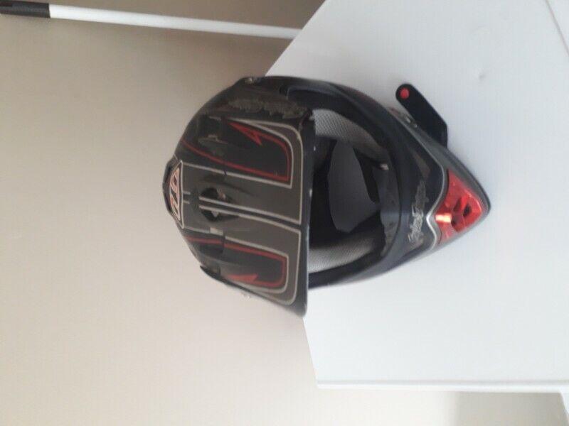 Motorcycle Helmet Troy Lee Design (M)