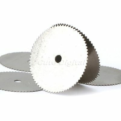 22mm Disc Steel Wood Saw Cutting Cutter Wheel Blade for Power Rotary Tool 20pcs