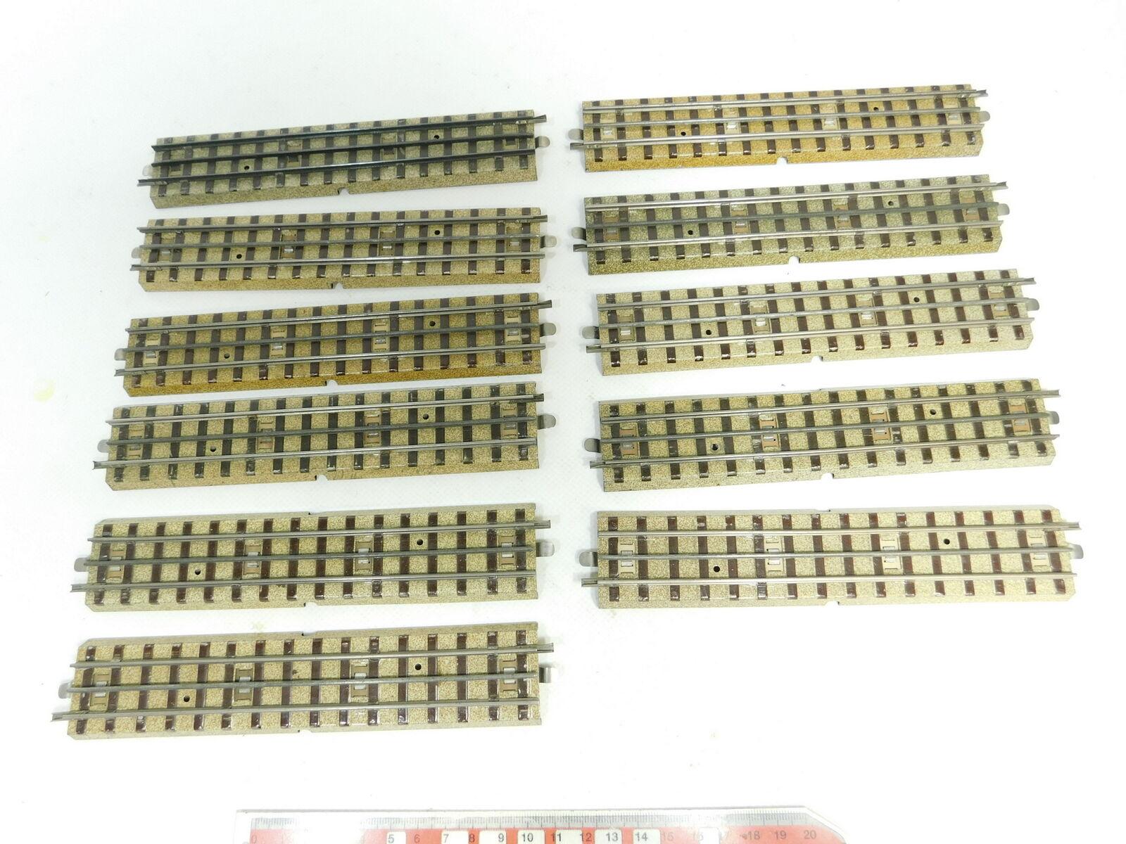 Bd695-1 11x Märklin H0  00 M  AC PEZZO pista dritto M 00 (F) . 3600 800 VORKRIEG bcc44c