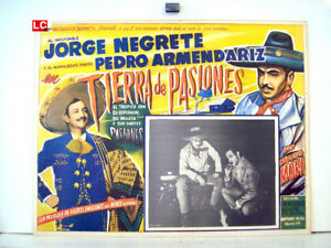 ONLY-AVAILABLE-24h-DIEGO-BANDERAS-JORGE-NEGRETE-1942-OPTIONAL-SET-MEXICAN-LC