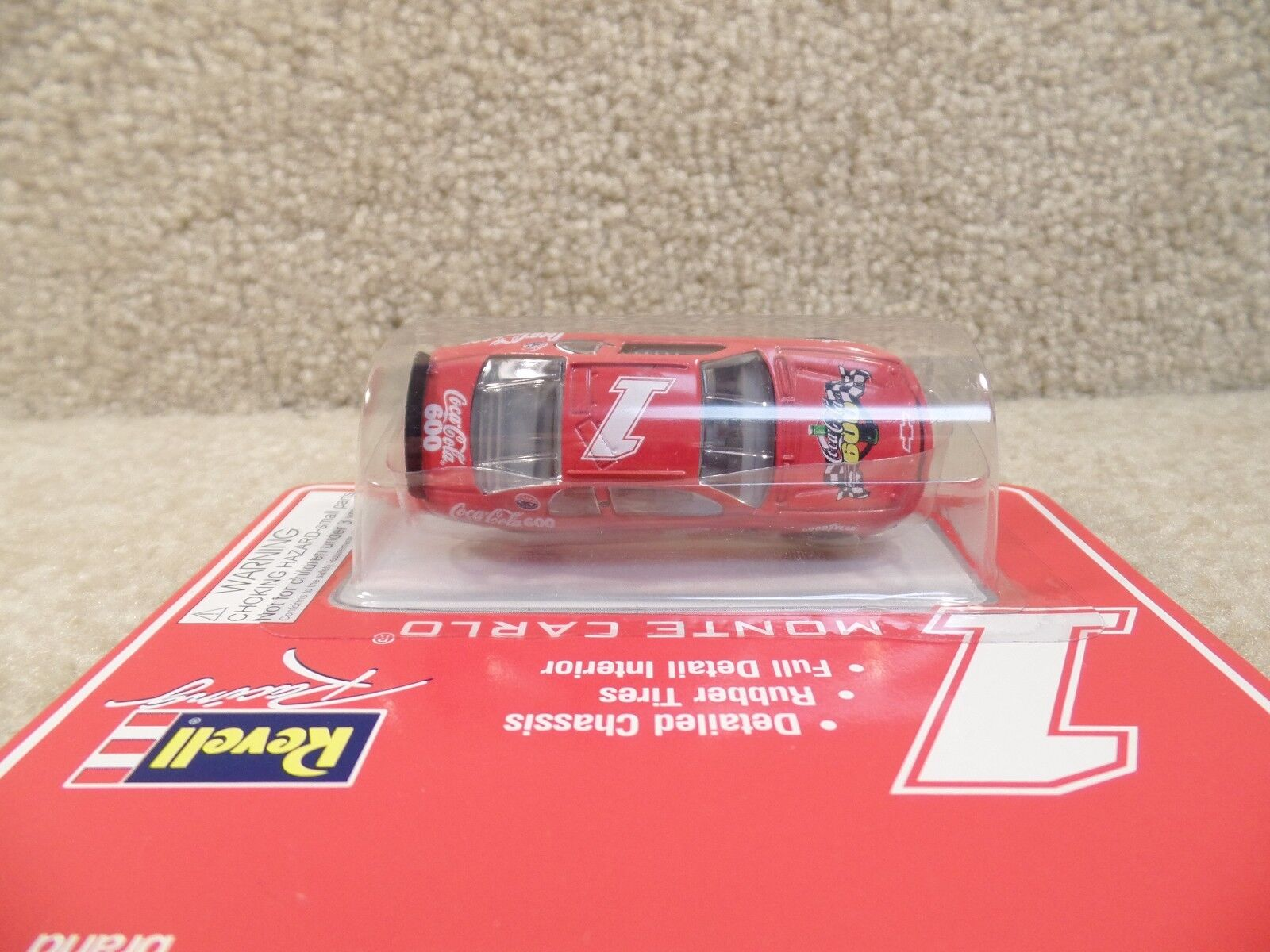 New 1997 Revell 1:64 Scale Diecast NASCAR Coca Cola Coke Monte Carlo Pace Car b
