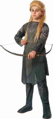 Legolas Greenleaf Hobbit Lord of Rings Elf Fancy Dress Halloween Child Costume