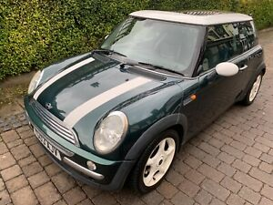 2003-Mini-Cooper-Chilli-R52-Sunroof-Leather-Xenon-Heated-Screen-SPARES-OR-REPAIR