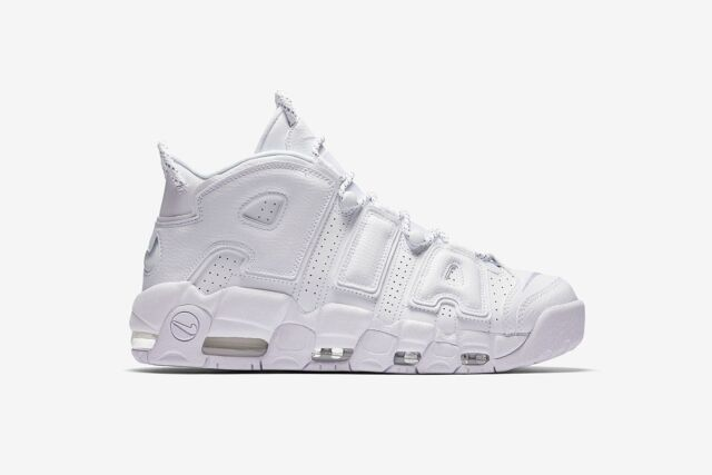 c6f5c6f81fa16 New 2017 Nike White AIR MORE UPTEMPO 96 Pippen Jordan NBA Retro Sneakers  Mens 11