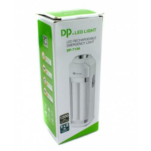 LED EMERGENCY RECHARGEABLE LANTERN TORCH LIGHT POWER CUT EMERGENCY CAMPING HOME