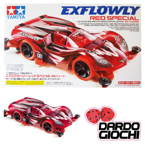 NEW TAMIYA MINI4WD EXFLOWLY RED SPECIAL ITEM 95339