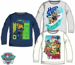 Paw-Patrol-Pullover-Pulli-Junge-T-Shirt-Langarmshirt-Child-Boy-Sweater
