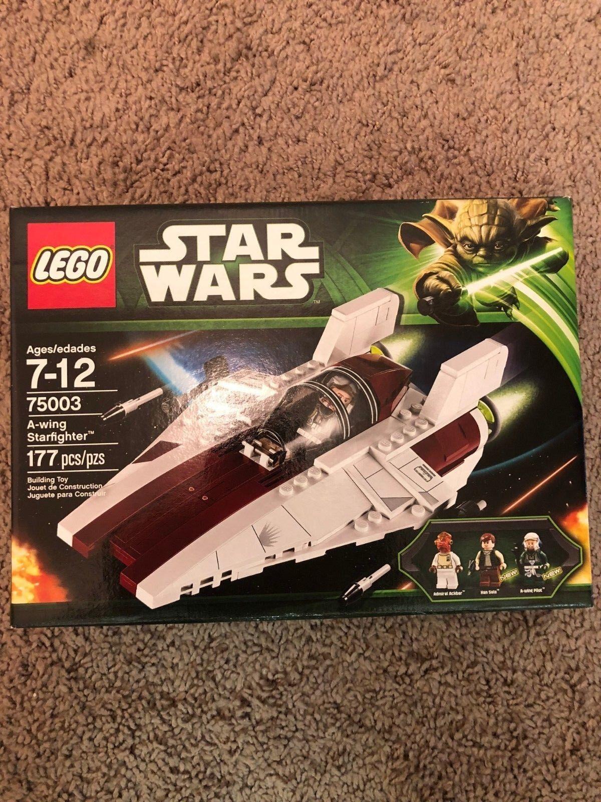LEGO  estrella guerras 75003 - A-wing estrellacombatiente - Retirosso, nuovo in Sealed scatola  vendita di fama mondiale online