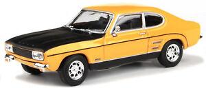 Ford-Capri-RS-1970-gelb-Cararama-Auto-Modell-1-43