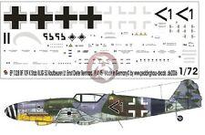Peddinghaus 1/72 Bf 109 K-4 Markings Stab III./JG 53 Ernst-Dieter Bernhard 1328