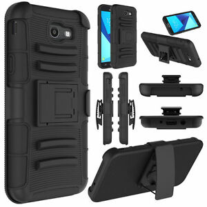 For-Samsung-Galaxy-J7-Prime-J7-2017-kickstand-Holster-Belt-Clip-Armor-Case-Cover