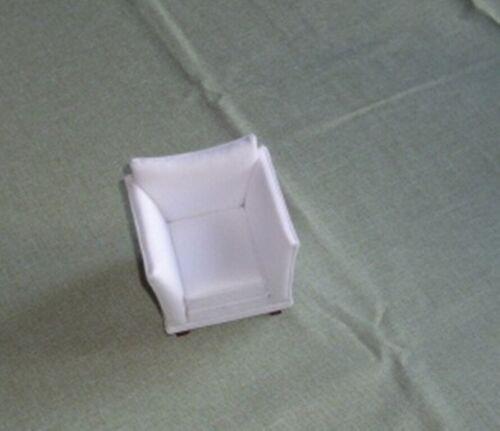 Miniatur 1:12-Puppenhaus schöner Sessel Stoffbezug