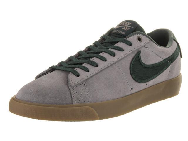 low priced 5a706 d7140 New Nike Blazer Low Gt Men s Skate Shoes Gunsmoke Black Spruce 704939 018