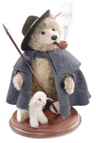 STEIFF®   037153  Teddybär Räuchermännchen, sand NEU unbesp. TOP  RARITÄT  | Ich kann es nicht ablegen