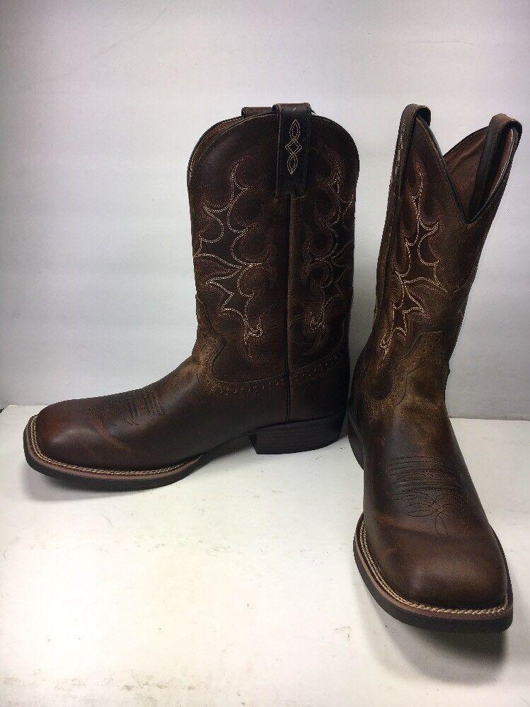Justin SV7216 Silber Collection Square Toe Western Stiefel, Mens Mens Mens Größe  11.5D (C361) 0cc4d5