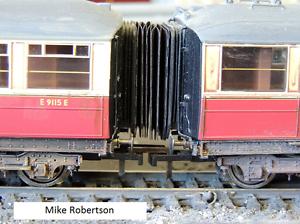 Hornby-Super-Detail-Pullman-Gresley-Corridor-Connectors-x-12-00-Gauge