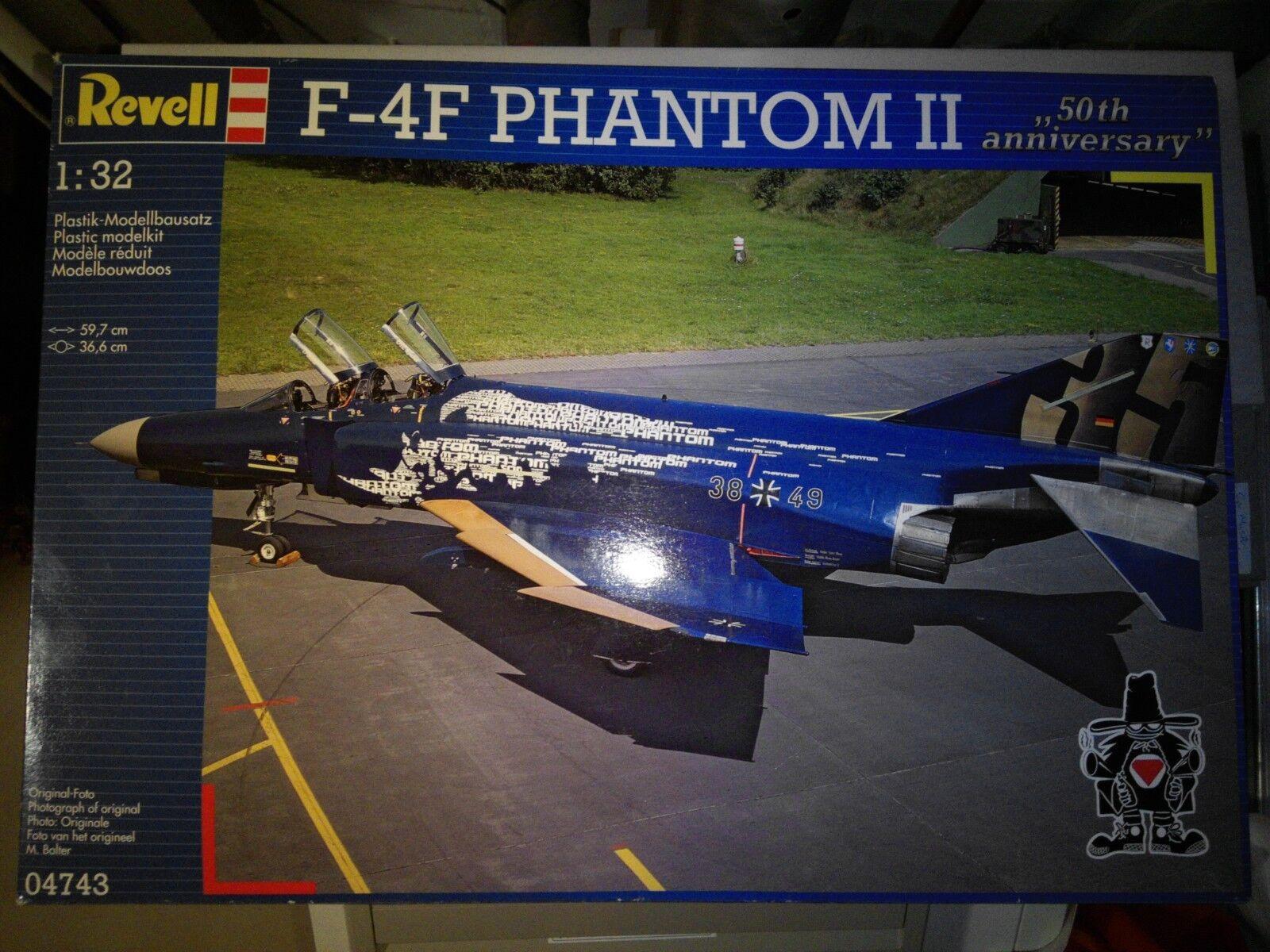 "McDonnell Douglas F-4F Phantom II  50 Jahre Phantom"" Phantom"" Phantom"" - Revell - 04743 - 1 32 d94dcd"