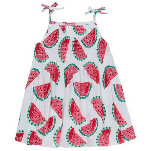 Girls 100/% Cotton Sundress ~ Watermelons or Stripes ~ 2-8 Years