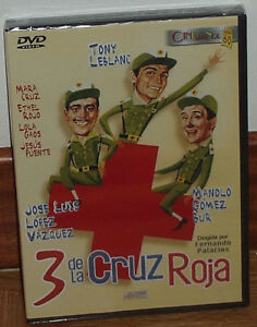 3-DE-LA-CRUZ-ROJA-DVD-NUEVO-PRECINTADO-CINE-ESPANOL-COMEDIA-SIN-ABRIR-R2