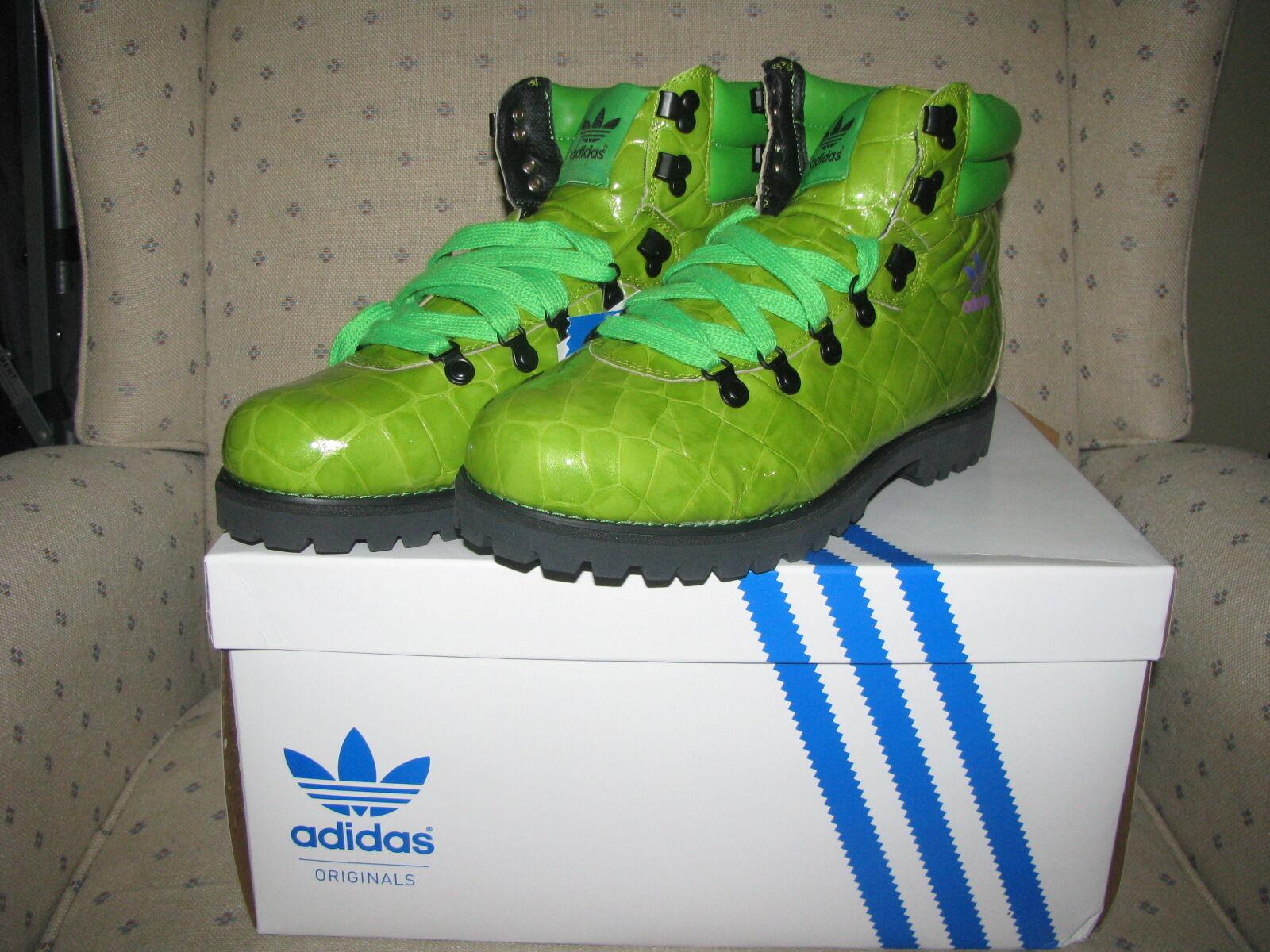 Adidas originali obyo jeremy scott scarpone snow da montagna winter snow scarpone leopard gorilla ali 804dd5